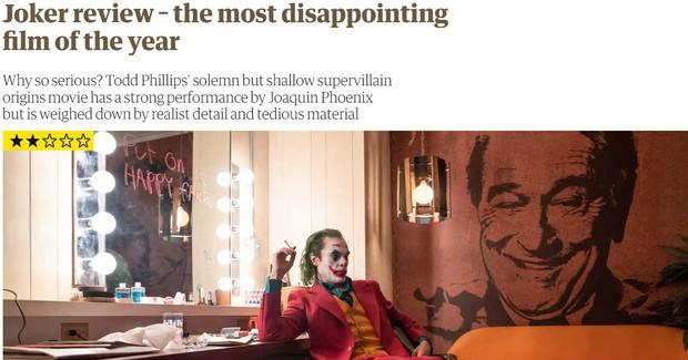 Tranh cãi nảy lửa xung quanh Joker: Khán giả đánh giá cao ngất ngưởng, giới phê bình chê làm lố - Ảnh 5.