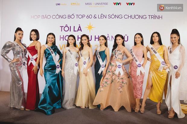 Top 60 Hoa hậu Hoàn vũ Việt Nam chính thức lộ diện: Thúy Vân, Hương Ly cùng đụng độ khoe nhan sắc bất phân thắng bại - Ảnh 12.