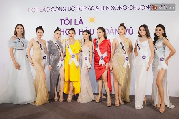 Top 60 Hoa hậu Hoàn vũ Việt Nam chính thức lộ diện: Thúy Vân, Hương Ly cùng đụng độ khoe nhan sắc bất phân thắng bại - Ảnh 9.