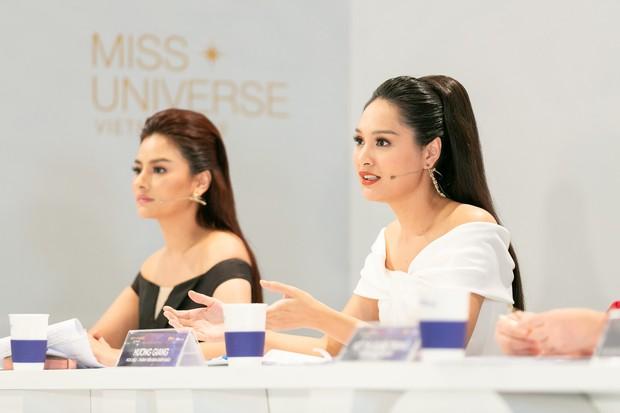 Đi thi mà xuất hiện như celeb, Thúy Vân suýt bị loại khỏi Hoa hậu Hoàn vũ Việt Nam - Ảnh 4.