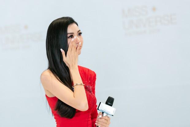 Hé lộ lý do khiến Thúy Vân bật khóc tại vòng casting của Hoa hậu Hoàn vũ Việt Nam - Ảnh 2.