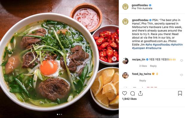 Phở Thìn Lò Đúc ở Úc khuấy động khắp mặt trận Instagram với hàng loạt hình check in và đây là những nhận xét của bạn bè quốc tế - Ảnh 3.