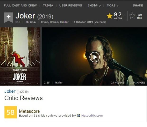Tranh cãi nảy lửa xung quanh Joker: Khán giả đánh giá cao ngất ngưởng, giới phê bình chê làm lố - Ảnh 2.