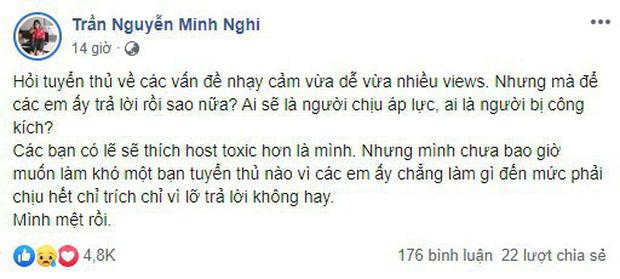 LMHT - Liên tục bị chỉ trích, thậm chí bị chửi rủa thô tục, MC Minh Nghi cũng phải thốt lên Mình mệt rồi! - Ảnh 3.