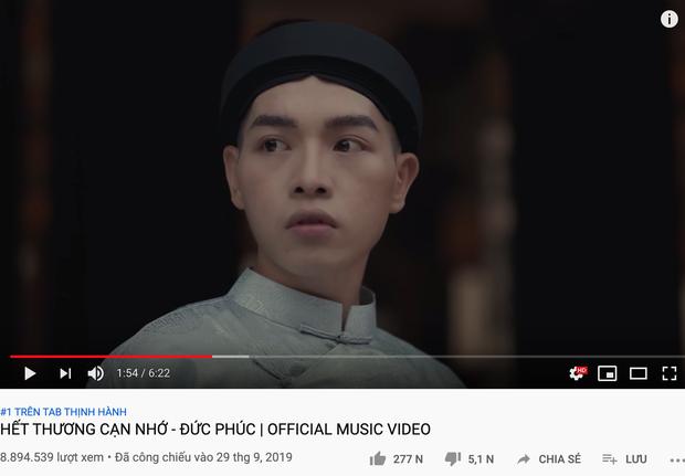 Sức mạnh sao đỏ của Hậu Hoàng đạt 36 triệu view Youtube sau hơn 1 tuần ra mắt, vượt mặt Bích Phương lẫn Đức Phúc! - Ảnh 4.