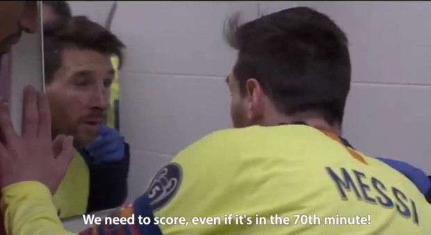 Hé lộ những hình ảnh siêu hot trong phòng thay đồ Barca: Messi bầm dập, đồng đội thất thần sau trận thua không tưởng trước Liveprool - Ảnh 2.