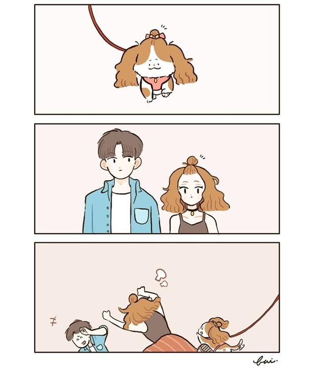 Bộ tranh: Khi yêu vào con người ta có thể trở nên dễ thương đến thế này, bảo sao ai cũng mong có bồ! - Ảnh 7.