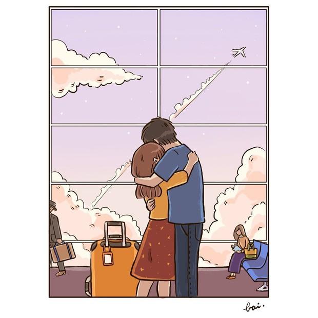 Bộ tranh: Khi yêu vào con người ta có thể trở nên dễ thương đến thế này, bảo sao ai cũng mong có bồ! - Ảnh 15.