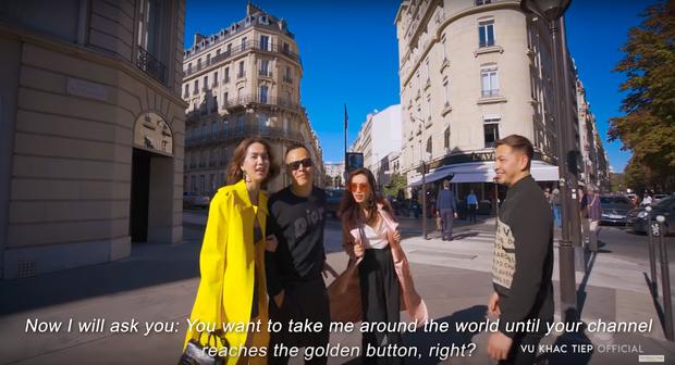 HOT: Vũ Khắc Tiệp thừa nhận sẽ đưa Ngọc Trinh đi khắp thế giới đến khi đạt nút vàng Youtube, cho dù có phải... bán nhà? - Ảnh 9.