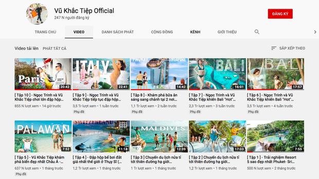 HOT: Vũ Khắc Tiệp thừa nhận sẽ đưa Ngọc Trinh đi khắp thế giới đến khi đạt nút vàng Youtube, cho dù có phải... bán nhà? - Ảnh 6.