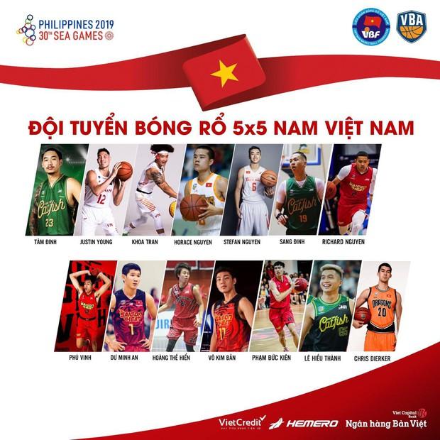Liên đoàn bóng rổ Việt Nam công bố danh sách cầu thủ dự SEA Games 30: Anh tài VBA tụ hội dưới trướng HLV Kevin Yurkus - Ảnh 1.