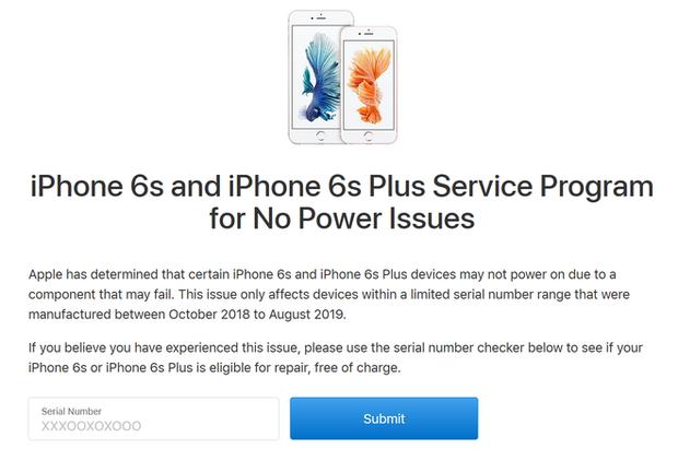 Ai còn dùng iPhone 6S lưu ý khẩn cấp: Máy có thể biến thành cục gạch, kiểm tra ngay qua website này - Ảnh 2.