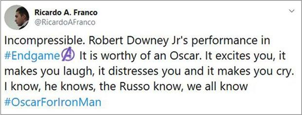 Khán giả ENDGAME sôi máu vì Người Sắt Robert Downey Jr. vắng mặt trong danh sách ứng cử Oscar - Ảnh 3.