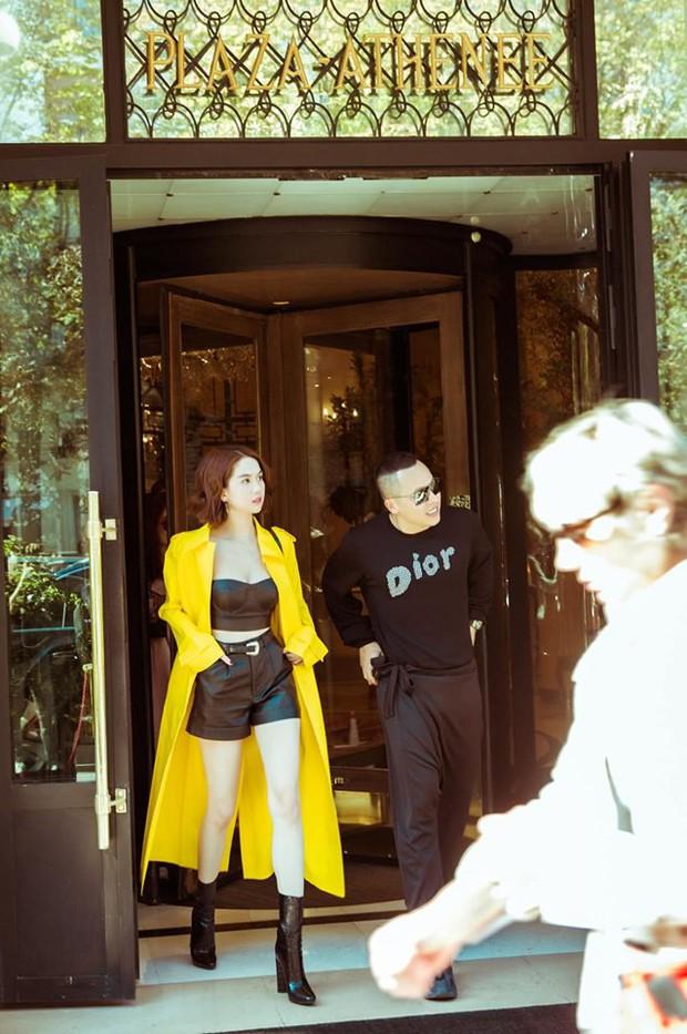 Ở Paris có khác: vlog mới của Vũ Khắc Tiệp và Ngọc Trinh như 1 show diễn thời trang đỉnh cao, choáng ngợp với phòng khách sạn 110 triệu/đêm - Ảnh 6.