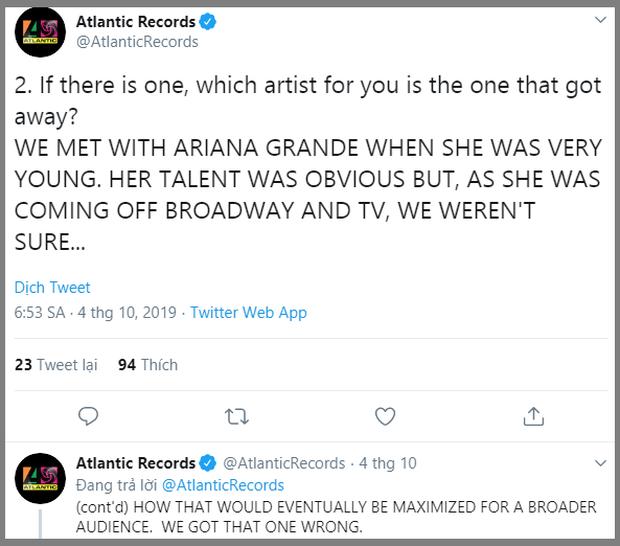 Nhìn thấy sức ảnh hưởng quá lớn của Ariana Grande, hãng đĩa của Cardi B, Ed Sheeran cảm thấy hối hận vì đã lỡ mất một nhân tài - Ảnh 3.