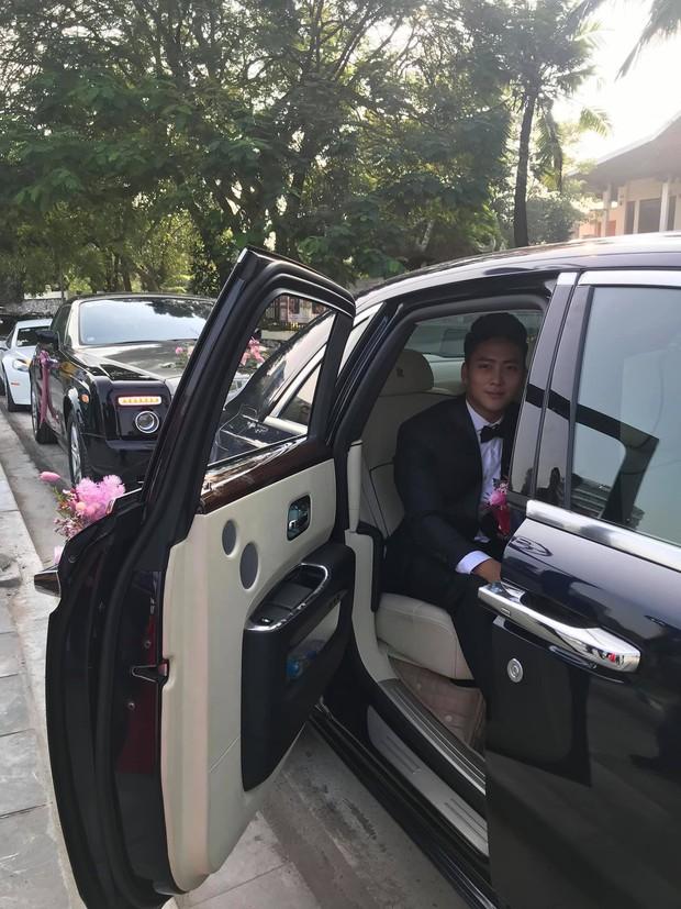 Rich kid Giang Lê xinh xuất sắc trong ngày cưới, chỗ đỗ dàn Rolls Royces tiết lộ vị trí đắc địa của nhà gái ở Hà Nội - Ảnh 3.