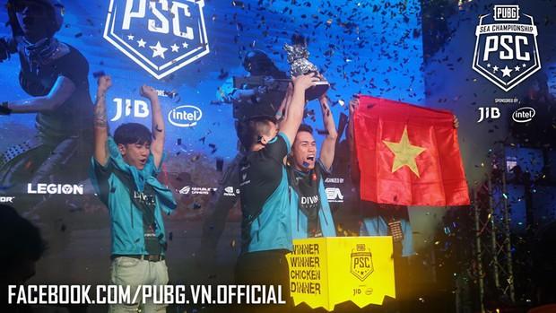 Vừa vô địch giải PUBG Đông Nam Á lại rinh thêm cúp mới: Divine Esports đích thị là ông vua PUBG của khu vực! - Ảnh 1.