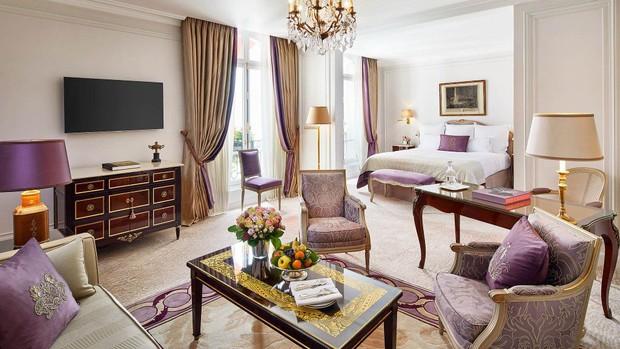Choáng váng: 110 triệu/đêm đã là gì, khách sạn Vũ Khắc Tiệp và Ngọc Trinh thuê ở Paris còn có phòng giá 700 triệu/đêm! - Ảnh 10.