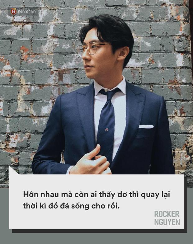 Công khai yêu đương một ngày đã phải thở ra mười nghìn câu khẩu nghiệp: Ai cho Rocker Nguyễn được hiền?  - Ảnh 7.