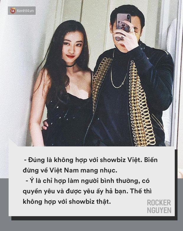 Công khai yêu đương một ngày đã phải thở ra mười nghìn câu khẩu nghiệp: Ai cho Rocker Nguyễn được hiền?  - Ảnh 6.