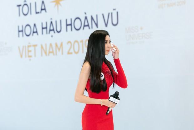 Hé lộ lý do khiến Thúy Vân bật khóc tại vòng casting của Hoa hậu Hoàn vũ Việt Nam - Ảnh 3.