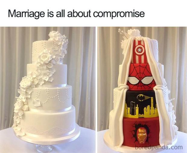 Loạt ảnh siêu hài hước về chủ đề hôn nhân mà chỉ những người trong rọ mới hiểu - Ảnh 1.
