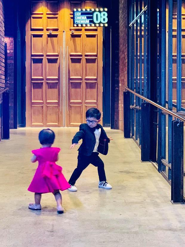 Quý tử triệu đô nhà Đan Trường thân thiết với con gái Thanh Thảo, netizen rần rần mong 2 gia đình kết tình thông gia - Ảnh 5.