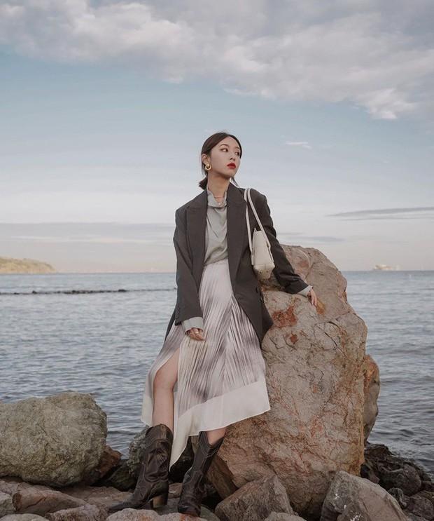 12 ý tưởng diện áo blazer + chân váy mãn nhãn đến nỗi bạn cũng phải xuýt xoa trước diện mạo của chính mình - Ảnh 9.
