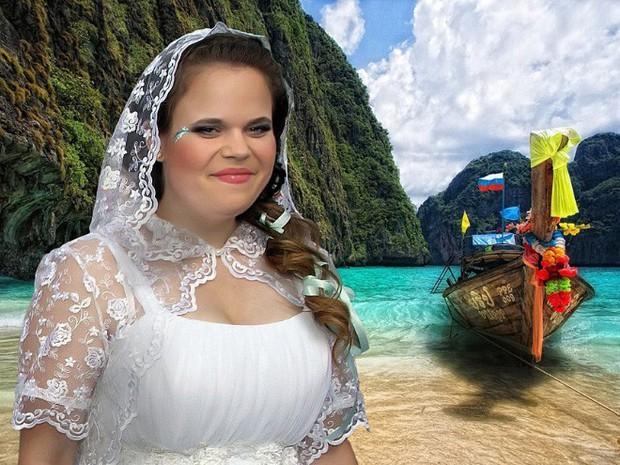 Hồn vía lên mây khi các phó nháy người Nga trổ tài photoshop ảnh cưới, báo hại gia chủ khóc dở mếu dở - Ảnh 1.
