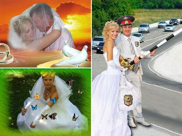 Hồn vía lên mây khi các phó nháy người Nga trổ tài photoshop ảnh cưới, báo hại gia chủ khóc dở mếu dở - Ảnh 5.