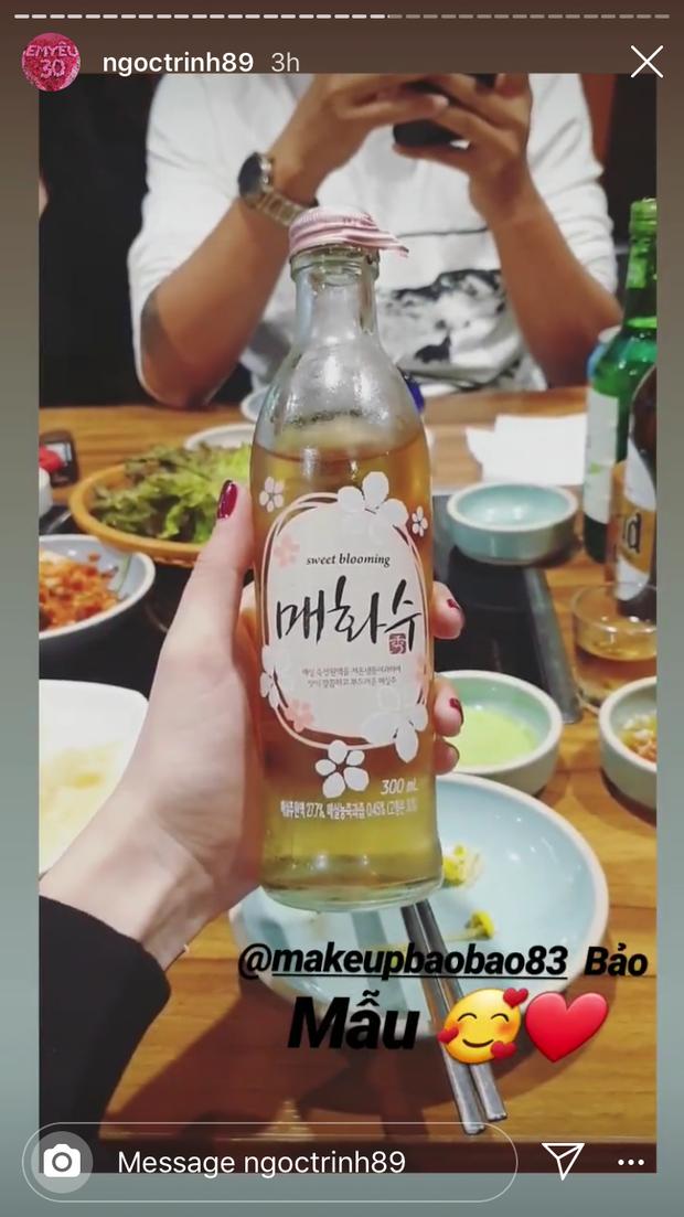 Ngọc Trinh bỗng đổi từ nhà hàng sang chảnh sang ăn tại... chợ ở Seoul, lại còn cùng Huyền Lizzie úp chén lên đầu đúng kiểu người Hàn đi nhậu - Ảnh 7.