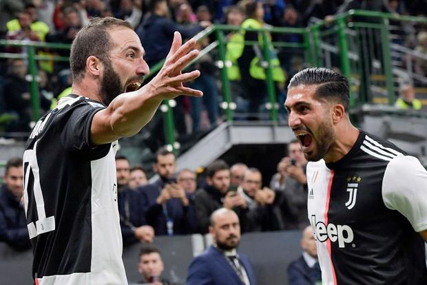 Ronaldo kém duyên, Juve thắng hú vía Inter trong trận cầu siêu kinh điển Italy - Ảnh 2.