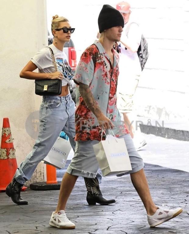 Soi kỹ mới thấy đẳng cấp visual của vợ Justin Bieber đỉnh nhường này: Ra đường là phải lồng lộn, đẹp lấn át cả chồng - Ảnh 5.