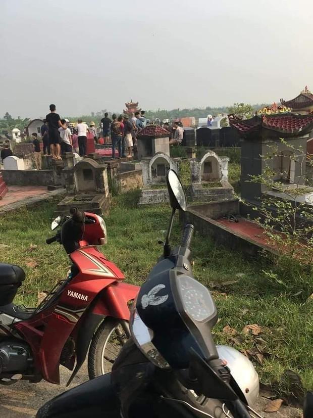 Hưng Yên: Người phụ nữ bị sát hại, vứt xác ngoài nghĩa trang - Ảnh 1.
