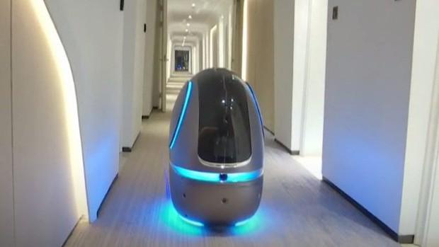 Ngợp mắt với khách sạn tương lai của ông trùm hàng đầu Trung Quốc, tràn ngập robot và công nghệ đầy nhà - Ảnh 13.
