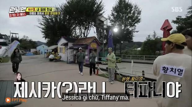 Chuyện thật như đùa: Tiffany (SNSD) bị gọi nhầm thành... Jessica ngay trên sóng Running Man - Ảnh 3.