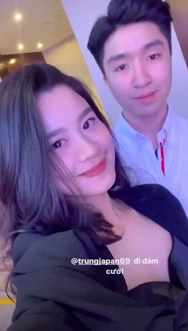 Hàn Hằng cùng người yêu ăn cưới rich kid Giang Lê, dân tình xôn xao gia thế bạn trai hot girl tạp hoá chắc khủng lắm đây - Ảnh 2.