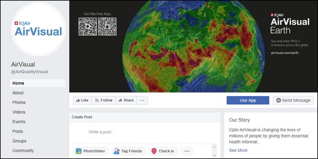 AirVisual đã comeback: Trở lại Store ứng dụng Việt Nam, kích hoạt page Facebook - Ảnh 3.