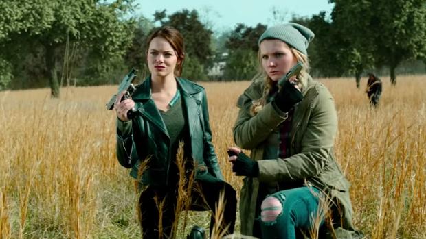 Zombieland 2 tung trailer: Emma Stone từng giã thây ma như chơi PUBG lại ngáo bất ngờ thế này! - Ảnh 5.