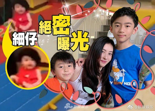 Chỉ 1 giây sơ suất, Trương Bá Chi làm lộ gương mặt quý tử thứ 3 suốt gần 1 năm giấu kín - Ảnh 4.