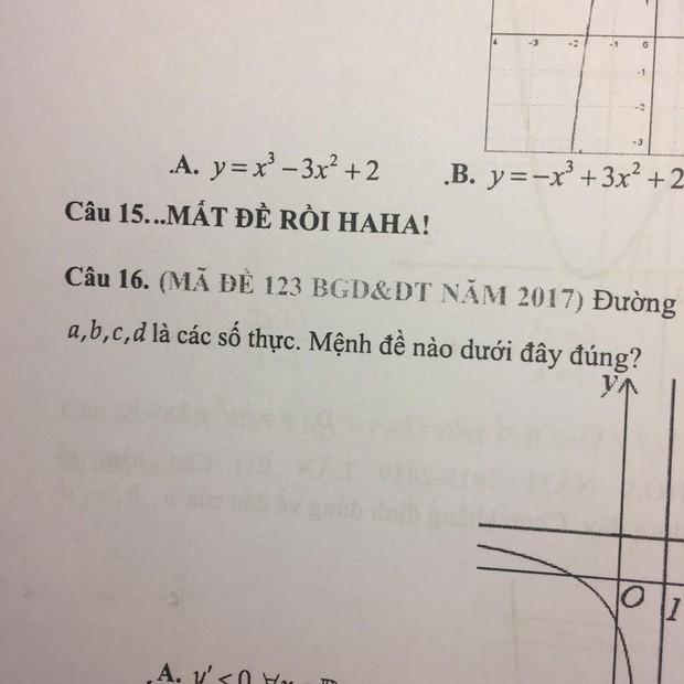 """Xuất hiện dòng chữ lạ trong đề thi khiến học sinh đồng loạt muốn bỏ học: """"Thôi mất đề rồi, học hành gì tầm này nữa!"""" - Ảnh 1."""