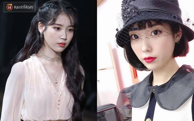 Idol Hàn cắt tóc ngắn: IU, Yoona, Wendy xinh ngất người, Krystal, Suzy lại thuộc nhóm xuống sắc - Ảnh 2.