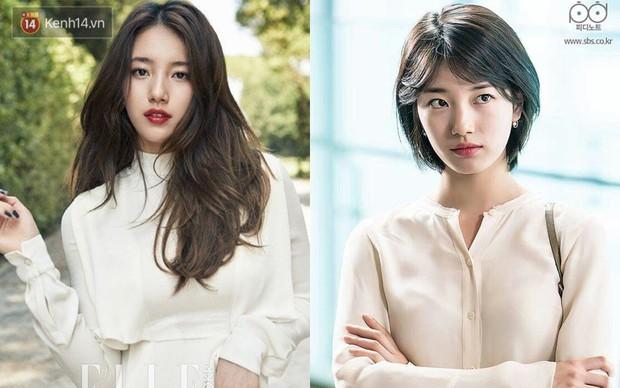 Idol Hàn cắt tóc ngắn: IU, Yoona, Wendy xinh ngất người, Krystal, Suzy lại thuộc nhóm xuống sắc - Ảnh 9.