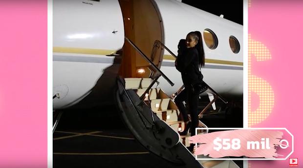 """Xin """"thở gấp"""" 1 phút trước số tiền tỷ Ariana Grande chi cho việc đi máy bay và thuê Airbnb mỗi tháng, có khi bằng người thường kiếm cả đời - Ảnh 8."""