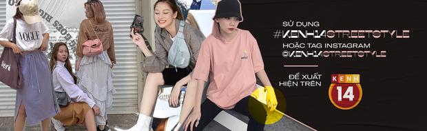 #kenh14streetstyle: nhiều bạn trẻ lên đồ đẹp mê, bộ nào cũng chất xịn, xem đến đâu trầm trồ đến đó - Ảnh 14.