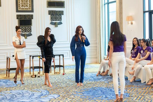 Võ Hoàng Yến: Các em đi thi Hoa hậu thì luôn luôn 24/24, các em phải diễn - Ảnh 3.