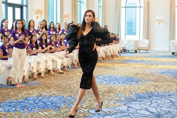 Võ Hoàng Yến: Các em đi thi Hoa hậu thì luôn luôn 24/24, các em phải diễn - Ảnh 5.