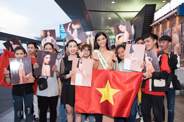 Vừa lên đường đến Venezuela thi Hoa hậu Hoà bình với 150 kg hành lý, Kiều Loan đã được gọi tên vào Top thí sinh nổi bật! - Ảnh 6.