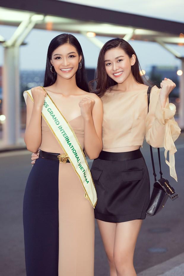 Vừa lên đường đến Venezuela thi Hoa hậu Hoà bình với 150 kg hành lý, Kiều Loan đã được gọi tên vào Top thí sinh nổi bật! - Ảnh 4.
