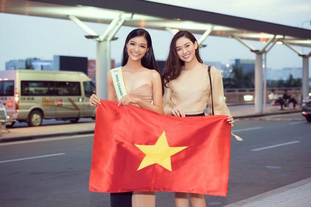 Vừa lên đường đến Venezuela thi Hoa hậu Hoà bình với 150 kg hành lý, Kiều Loan đã được gọi tên vào Top thí sinh nổi bật! - Ảnh 3.